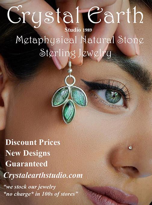 Lovely Labradorite Wholesale Sterling Metaphysical Spiritual Earrings